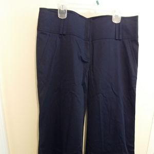 NWT Burberry Navy Blue Wide Leg Pants